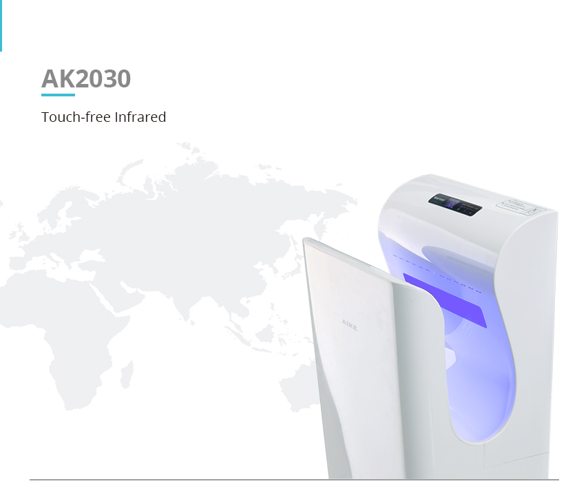 High Power Air Jet Fastdry Hand Dryer AK203