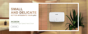 AIKE New Design products: Compact Size Low-priced and Delicate high-speed hand dryer AK2803K