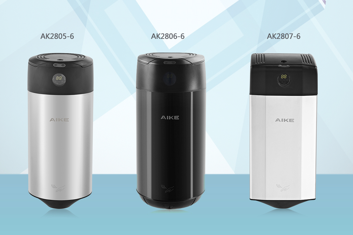 AIKE New Products: Fragrance Hand Dryer, Give You a Different Experience