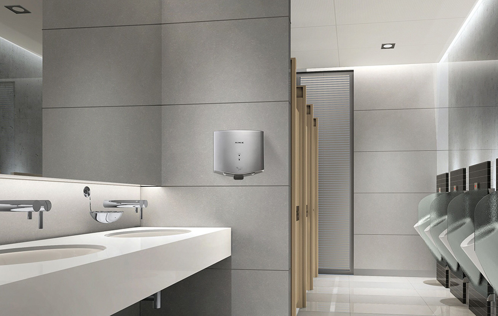 AK2630-K Compact High Speed Jet Hand Dryer