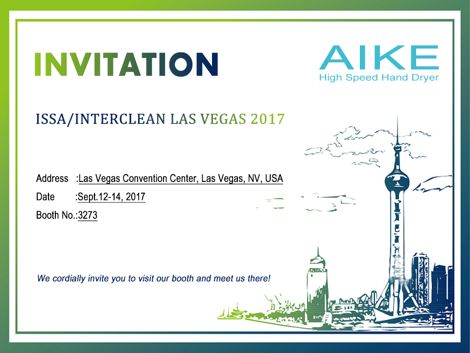 Invitation from aike hand dryer exhibition on the worlds largest invitation from aike hand dryer exhibition on the worlds largest trade show issainterclean stopboris Images