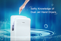 Something of Cautions about Dual Jet Hand Dryers